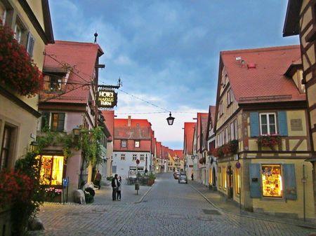 Rothenburg ob der tauber- Gem on Germay's romantic road.