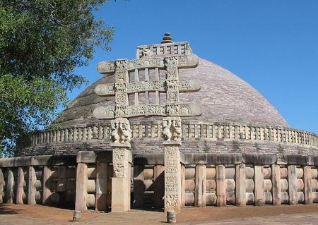 Sanchi- The Buddist town near Bhopal