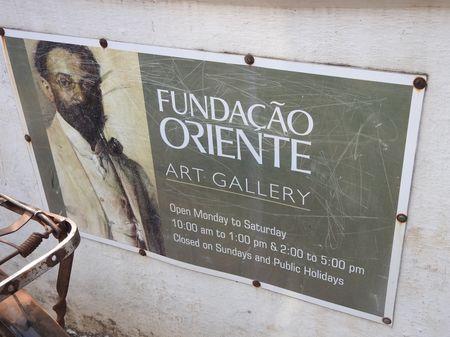 Fundacao Oriente  Art Gallery, Panjim, Goa