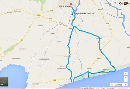 Puri to Konark, Marine Drive - A Mesmerizing Journey