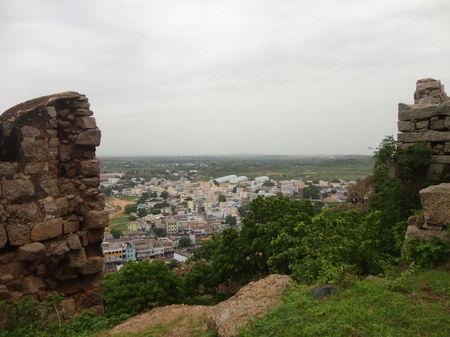 Bhongir Fort: Nestled deep and Unnoticed