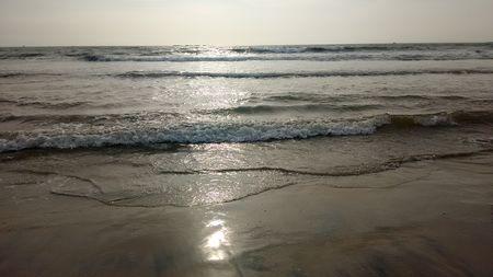 Malpe beach - Tranquil waves