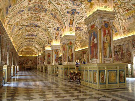 Divine Rome: Walking Through Vatican City Landmark