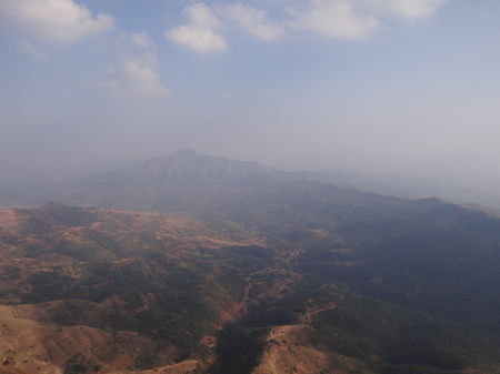 Trekking across the Torna-Rajgad ridge
