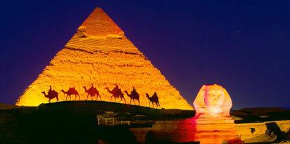 Sound & Lights Show at Giza Pyramids - Private Tou