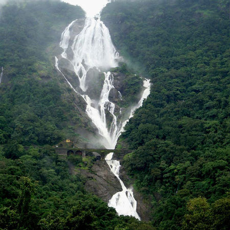 From The Best Beach To The Best Waterfall :- Dudhsagar Waterfall (Goa)