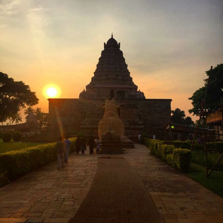 Positivity of The Cholas : Gangaikonda Cholapuram