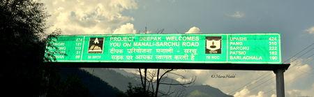 Rowing through Himalayas-Manali to Sarchu.