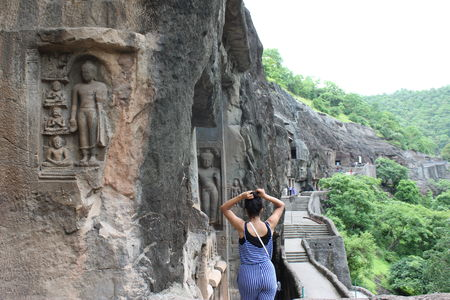 A 21st century stroll into the 2nd Century BC- Ajanta/Ellora