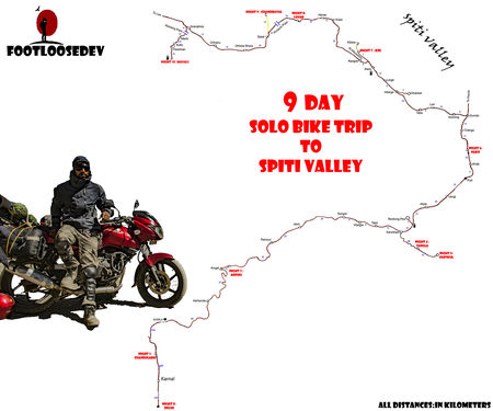 Solo Bike Expedition To Spiti Valley - An Ideal Itinerary