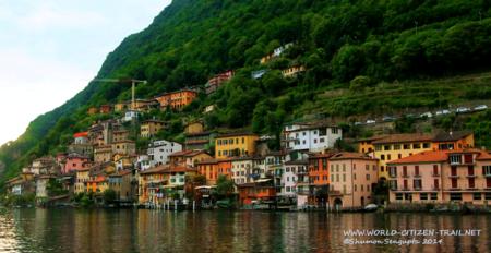 Picture Postcard Gandria, Ticino, Switzerland