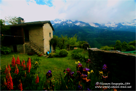 In the Paradise on Earth – Soglio Village, Bregaglia, Switzerland