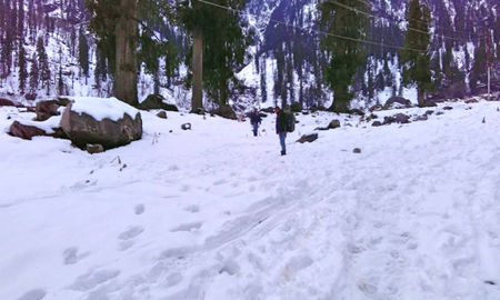 Solang Valley in Winters