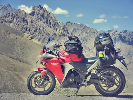 Kanyakumari to Kashmir - Solo Ride - CBR250R - Leh, Ladakh