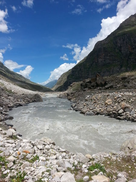 Hampta pass trek, a must do in summer.
