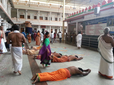 Spiritual saga at Mantralayam