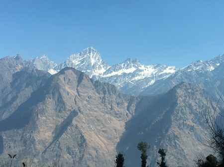 Auli: a night of bonfire and blizzards
