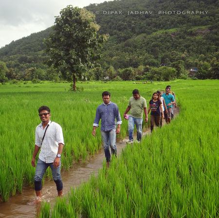 Monsoon Escapade at Mandala Water Fall & Raigad Fort (Day 1)