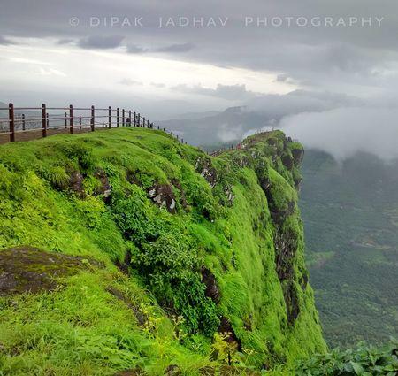Monsoon Escapade at Mandala Water Fall & Raigad Fort (Day 2)
