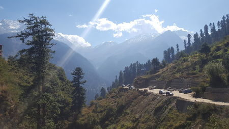 My first trip to India - Kasol & Tosh