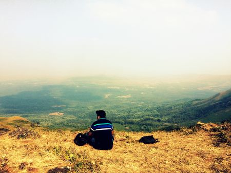 Riding through the Mountains - Chikmagalur