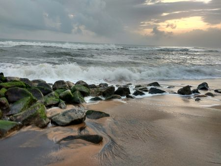 Varkala: Vivacious yet serene, a piece of Postcard from Malabar Coast.