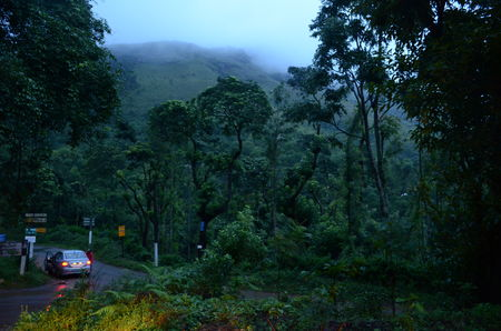 Chasing monsoon in western ghats