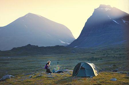 Sweden on a hiking-shoestring