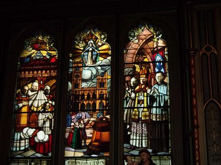 A visit to the Notre Dame Basilica, Montreal.