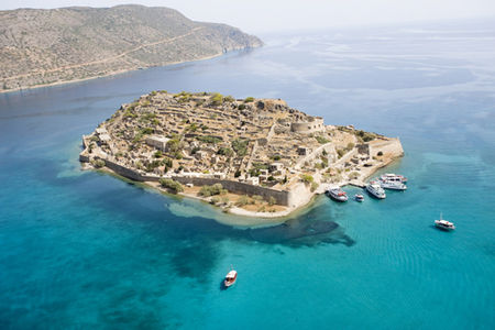 Nature and History at Spinalonga, Crete