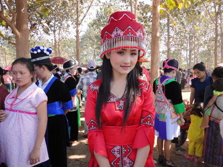 Laos -The Hmong New Year -A celebration of colours