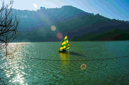 Nainital : Legs in Lake, Soul Awake
