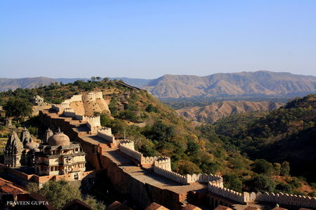 Kumbhalgarh- Birth place of Rajput Legend, Rana Pratap
