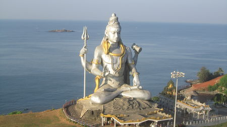 Exploring Lord Shiva's Town in South India- Murdeshwar