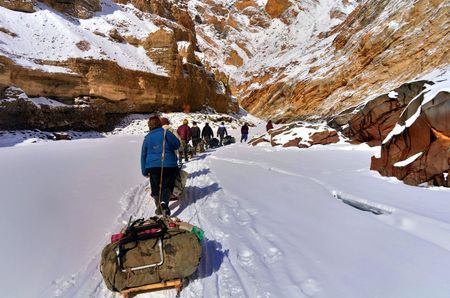 Chadar Trek - Frozen River Trek