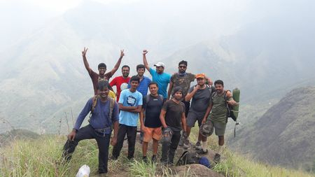 Top Station Trek - A Weekend in Western Ghats of Tamilnadu.