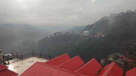 Alluring mountains,Breathtaking view , Picture-Perfect Shimla !!