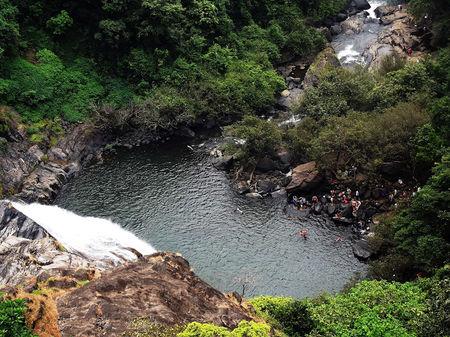 Hidden treasure in Goa - Dudhsagar Waterfall