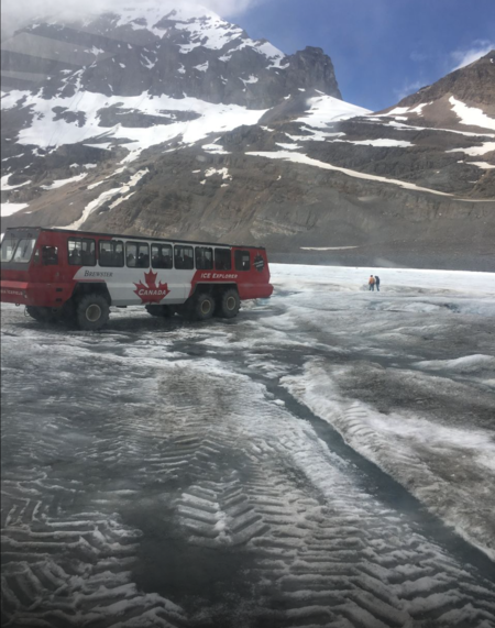 Athabasca Glacier exploration- The best experience of my life