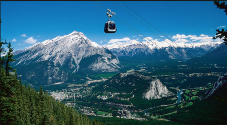 Banff Gondola ride which takes you to a beautiful heaven abode - Most popular Gondola in Canada