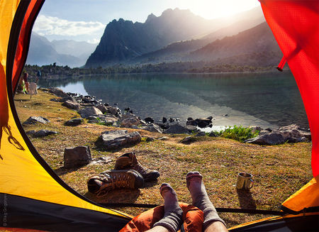 Why should you prefer to trek with rotating campsites?