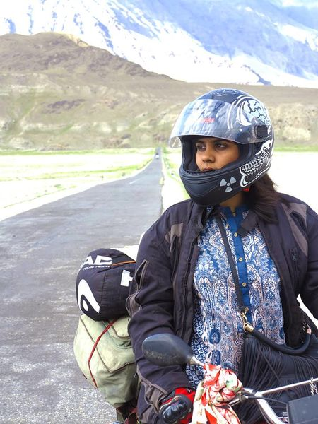 20-year-old Pakistani Female Rider Rides From Lahore to Kashmir
