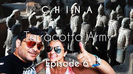 China Travel | Terracotta Army, City Wall & Flight to Shanghai | X'ian | Vacation Episode - 6/12