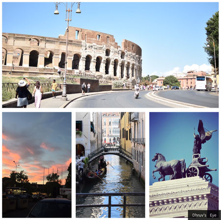 A Trip To Italy....The Land Of Gladiators ..( Europe Never Fails To Mesmerise )