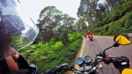 Chennai to Munnar - Motorcycle Ride - DAY 1 .