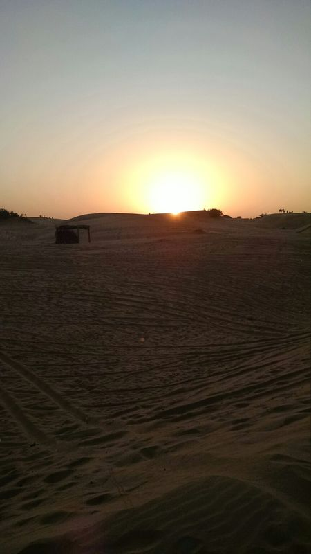 The Road Trip to Sam Sand Dunes, Rajasthan