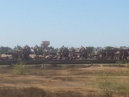 The Royal Chattardis in Bhuj, Gujarat