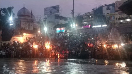 Beginning of Inner Peace - Har Ki Pauri & Rishikesh