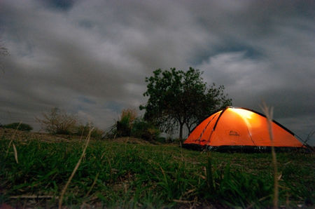 You can spend a weekend camping at an island near Hyderabad for just ₹4,000!