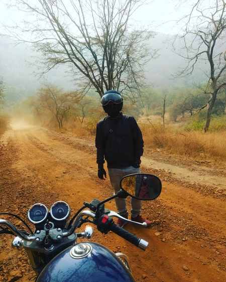 In Quest of Tiger on two Wheeler...Sariska Tiger Reserve